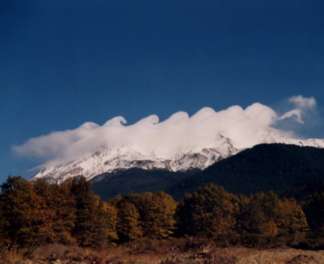 Kelvin-Helmhost Waves/Billow Clouds